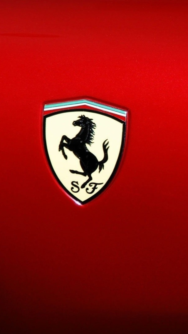 Ferrari Logo Wallpaper For Iphone 5