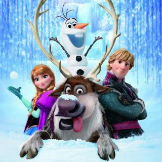 Frozen, Walt Disney - Obrázkek zdarma pro 1024x1024