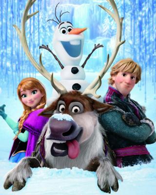 Frozen, Walt Disney - Obrázkek zdarma pro 640x960