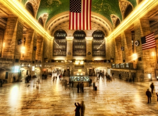 New York, Grand Central Wallpaper for Android, iPhone and iPad