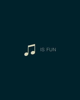 Music Is Fun - Obrázkek zdarma pro Nokia X6