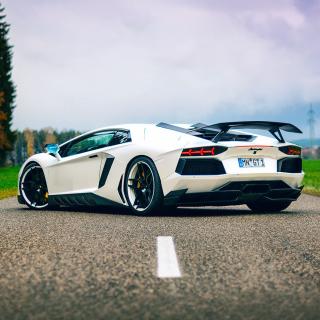 Lamborghini Aventador - Obrázkek zdarma pro iPad 3