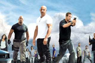 Fast and Furious 5 Background for Android, iPhone and iPad