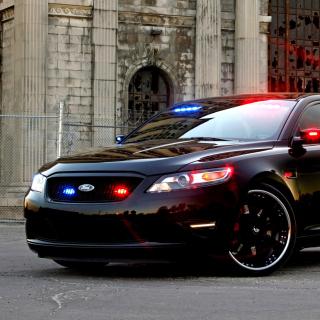 Ford Taurus Police Car - Obrázkek zdarma pro 1024x1024