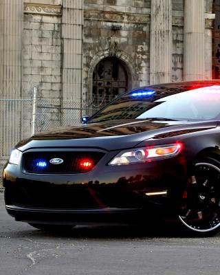 Ford Taurus Police Car - Obrázkek zdarma pro iPhone 6 Plus