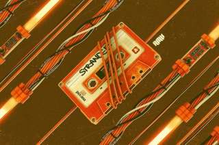 Tape Recordings Background for Android, iPhone and iPad