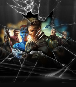 X-Men - Obrázkek zdarma pro 352x416