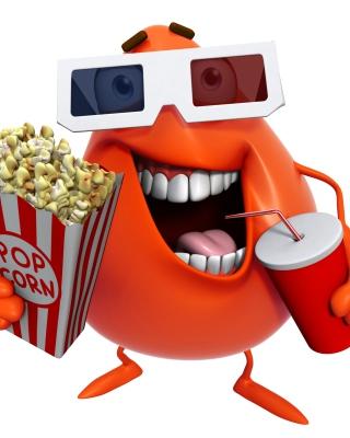 3d Film Monster - Obrázkek zdarma pro 360x400