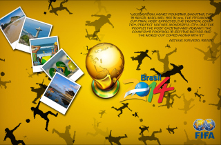 FIFA World Cup 2014 Brazil Background for Android, iPhone and iPad