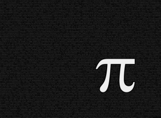 Mathematical constant Pi Background for Widescreen Desktop PC 1920x1080 Full HD