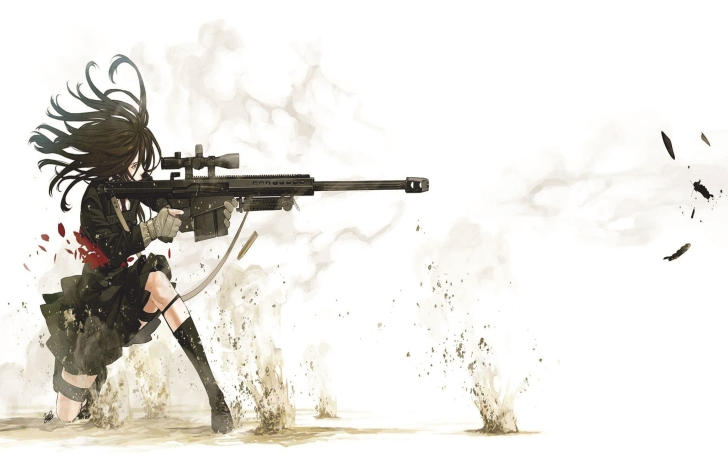 Rifle Anime Sniper Wallpaper For Android Iphone And Ipad