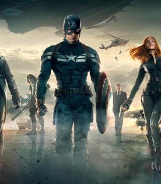 Capitan America - Obrázkek zdarma pro 352x416