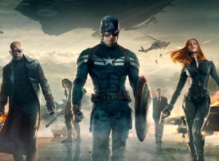 Capitan America - Obrázkek zdarma pro 1280x800