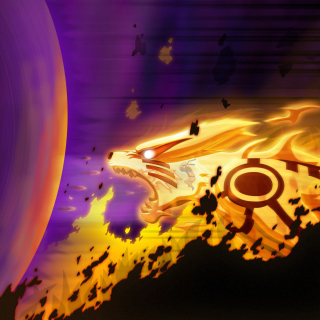 Kyuubi from Naruto - Obrázkek zdarma pro iPad 2