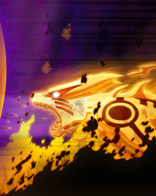 Kyuubi from Naruto - Obrázkek zdarma pro Nokia X7