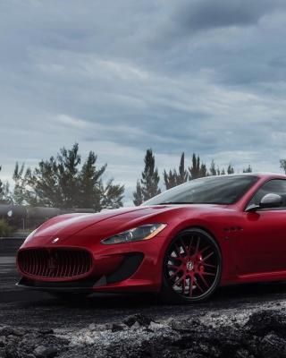 Maserati Granturismo Sport Duo - Obrázkek zdarma pro 480x854