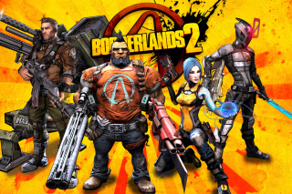 Borderlands 2 Background for Android, iPhone and iPad