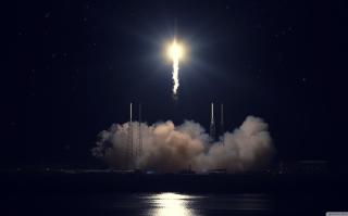 Rocket Flies Background for Android, iPhone and iPad