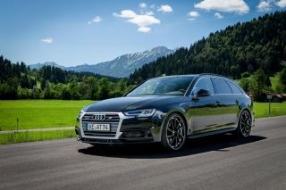 Audi A4 Avant - Obrázkek zdarma pro 640x480