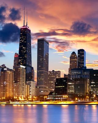 Illinois, Chicago - Obrázkek zdarma pro iPhone 5