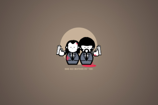 Pulp Fiction Joke Wallpaper for Android, iPhone and iPad