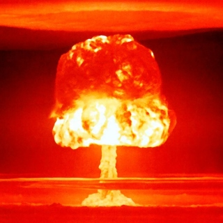 Nuclear explosion - Obrázkek zdarma pro 208x208