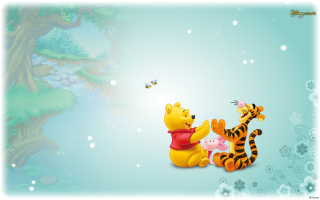 Winnie The Pooh Wallpaper for Android, iPhone and iPad