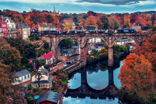 Knaresborough In North Yorkshire Background for Android, iPhone and iPad