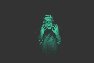 Frankenstein Monster Background for Android, iPhone and iPad