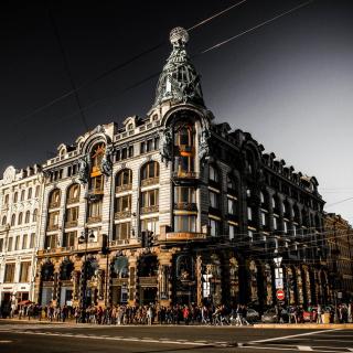 Nevsky Prospekt, Saint Petersburg - Obrázkek zdarma pro iPad 3