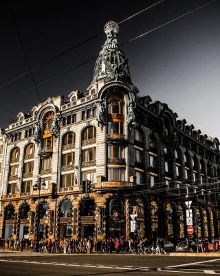 Nevsky Prospekt, Saint Petersburg - Obrázkek zdarma pro 640x960