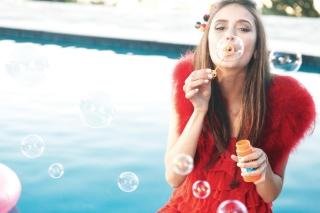 Funny Bubbles - Obrázkek zdarma pro Fullscreen 1152x864