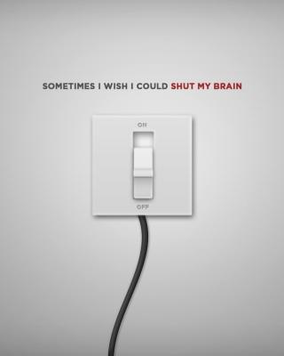 Shut My Brain - Obrázkek zdarma pro Nokia C5-05