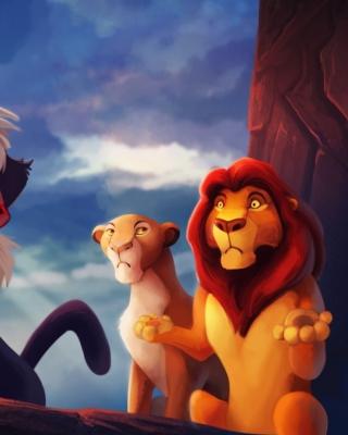 The Lion King - Obrázkek zdarma pro 360x480