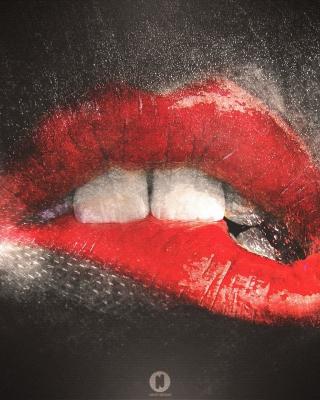 Red Lips Painting - Obrázkek zdarma pro Nokia Lumia 2520