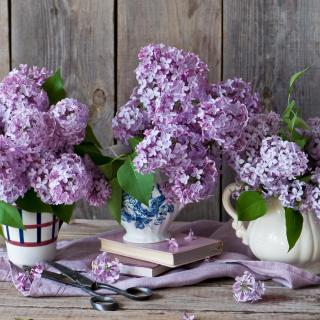 Lilac Bouquet - Obrázkek zdarma pro iPad 3