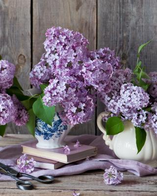 Lilac Bouquet - Obrázkek zdarma pro 360x480