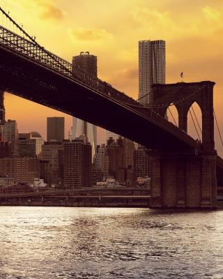 Brooklyn Bridge - Obrázkek zdarma pro Nokia 206 Asha