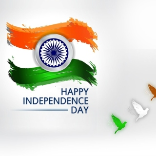 Independence Day India - Obrázkek zdarma pro 208x208