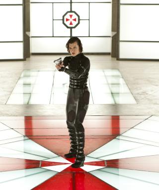 Resident Evil: Retribution - Alice - Obrázkek zdarma pro 128x160
