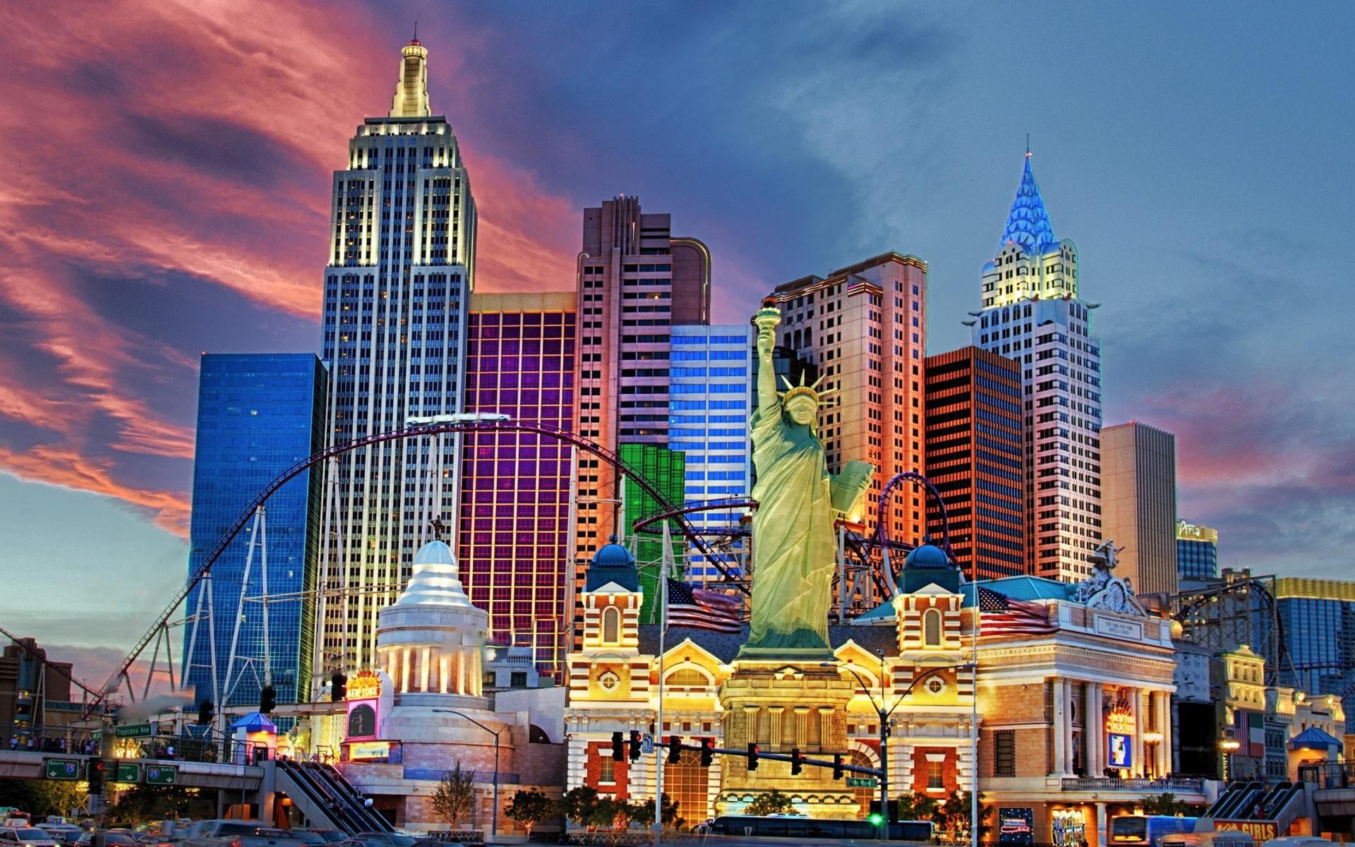 Las Vegas Hotel Wallpaper for Widescreen Desktop PC ...