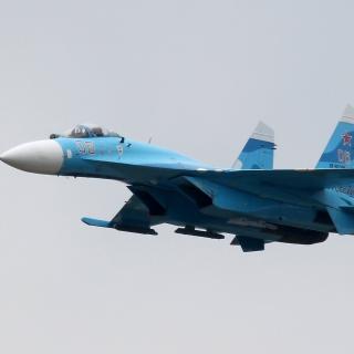 Sukhoi Su 27 Flanker - Obrázkek zdarma pro 208x208