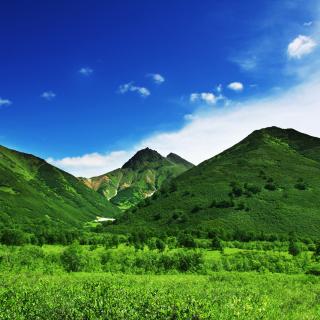 Green Hills - Obrázkek zdarma pro 320x320