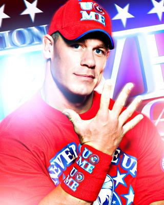 John Cena Wrestler and Rapper - Obrázkek zdarma pro iPhone 5S