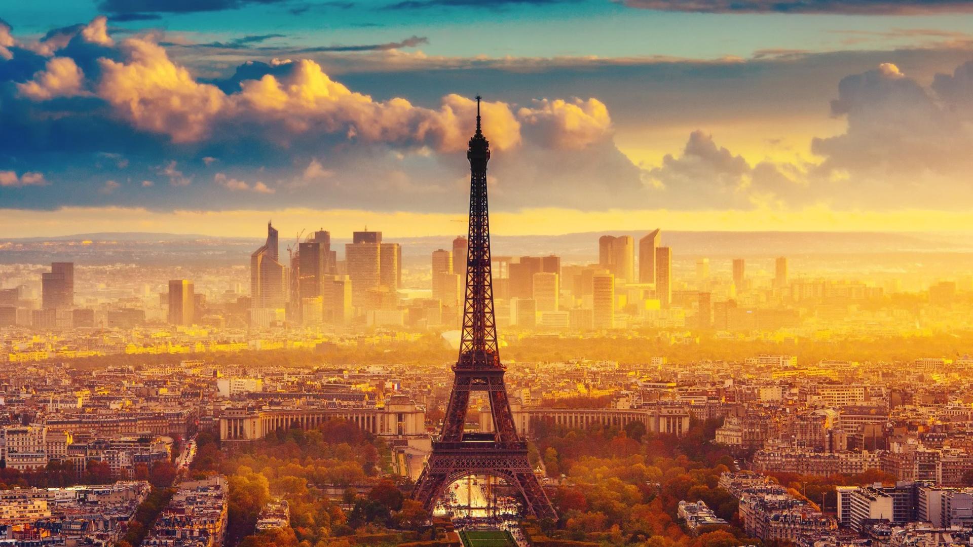 Paris skyscrapers in la defense fondos de pantalla for Fondos de escritorio full hd
