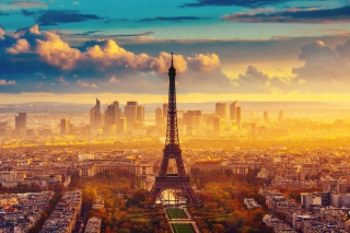 Paris Skyscrapers in La Defense Wallpaper for Android, iPhone and iPad