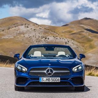 Mercedes Benz SL500 - Obrázkek zdarma pro iPad