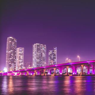 Miami Florida - Obrázkek zdarma pro iPad