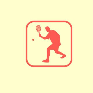 Squash Game Logo - Obrázkek zdarma pro iPad mini 2