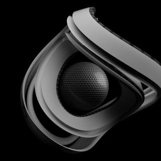 Black & White Ball - Obrázkek zdarma pro iPad mini 2